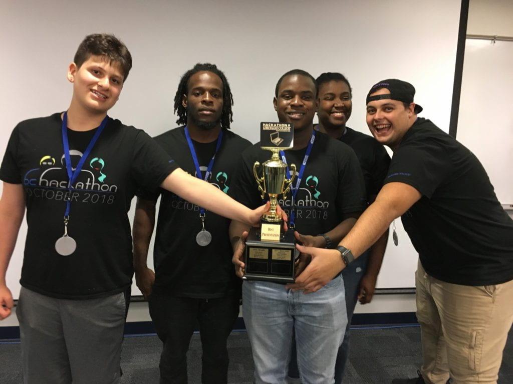 BC Hackathon 2018 - Best Presentation