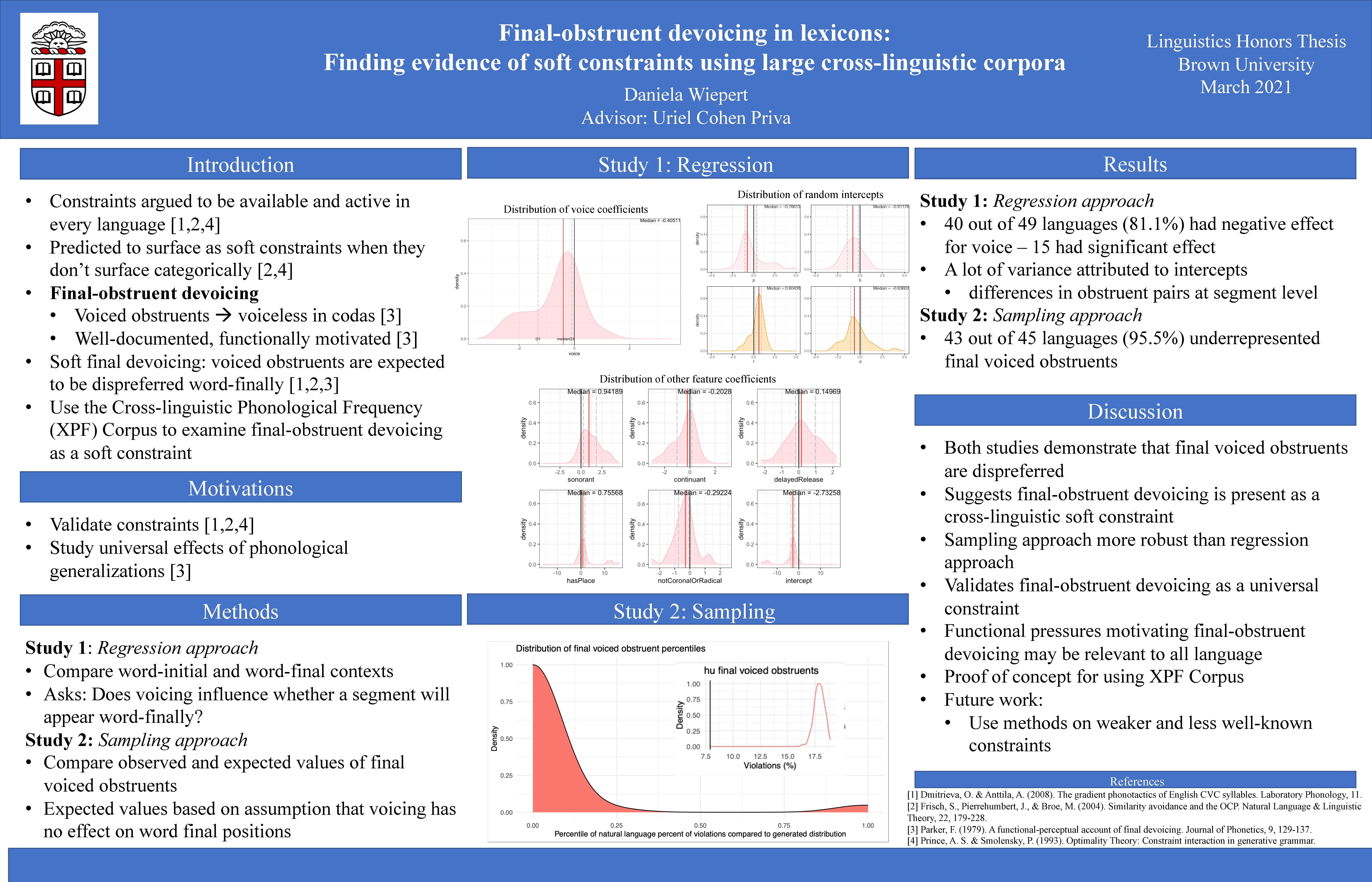 Poster from Student