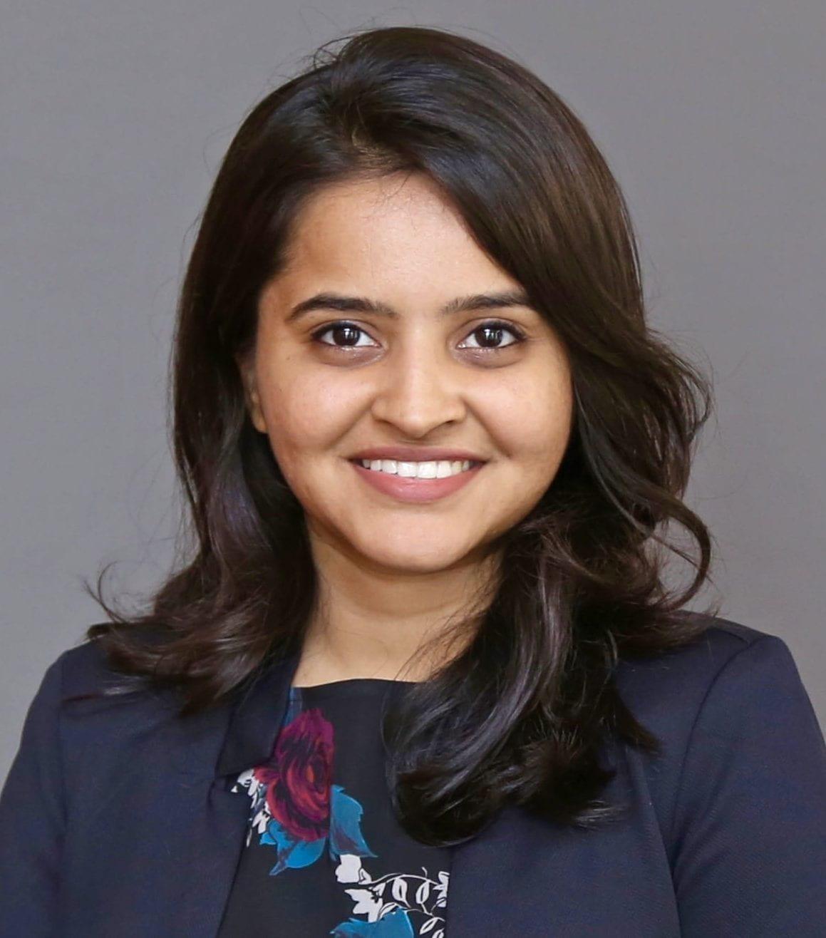 Shruti Trivedi portrait photo.