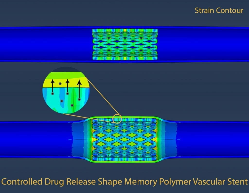 Shape memory polymer-related image.