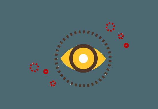 illustration of an eye