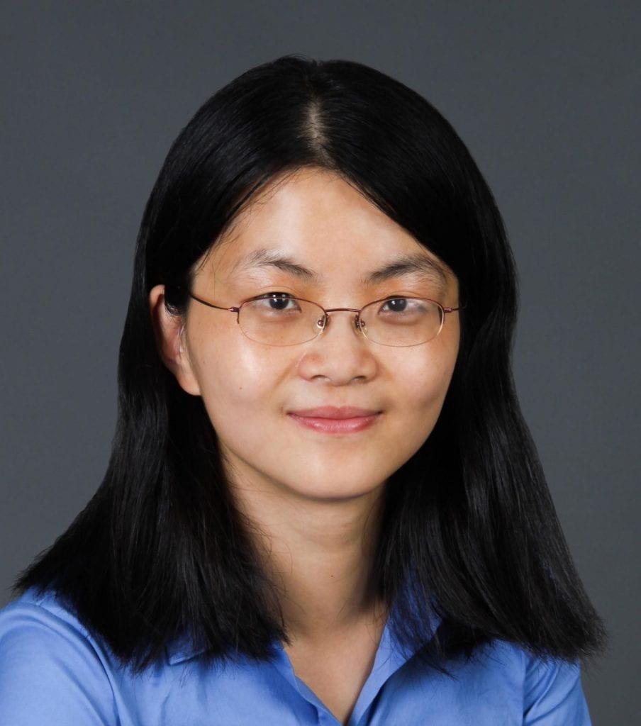 headshot of JiJi Fan