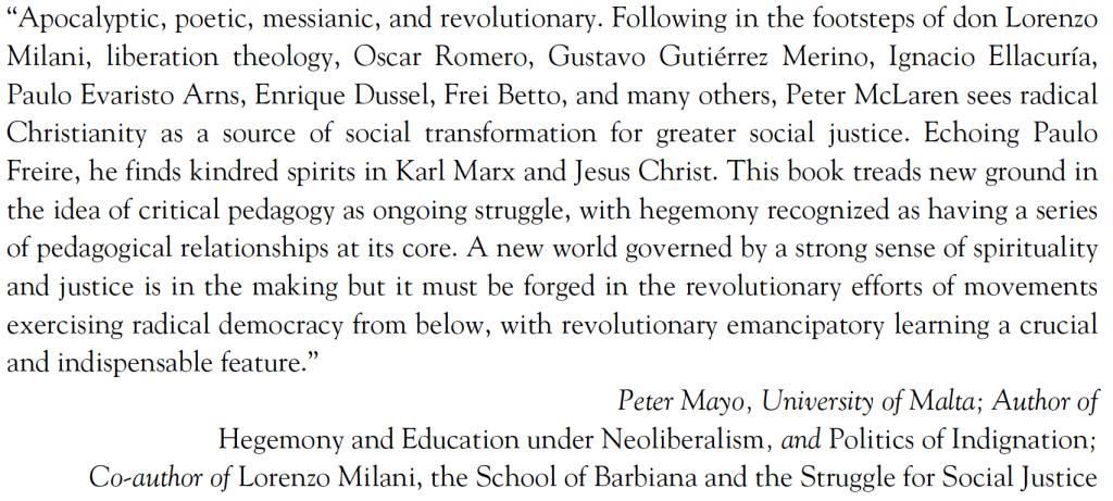 Peter Mayo