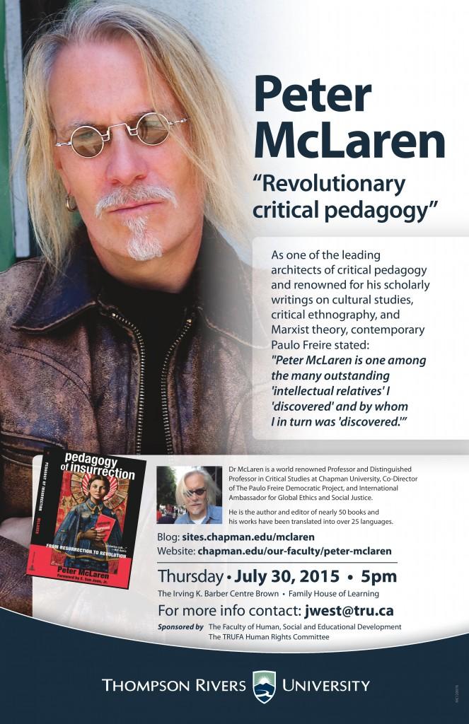 Revolutionary Critical Pedagogy at Thompson Rivers University