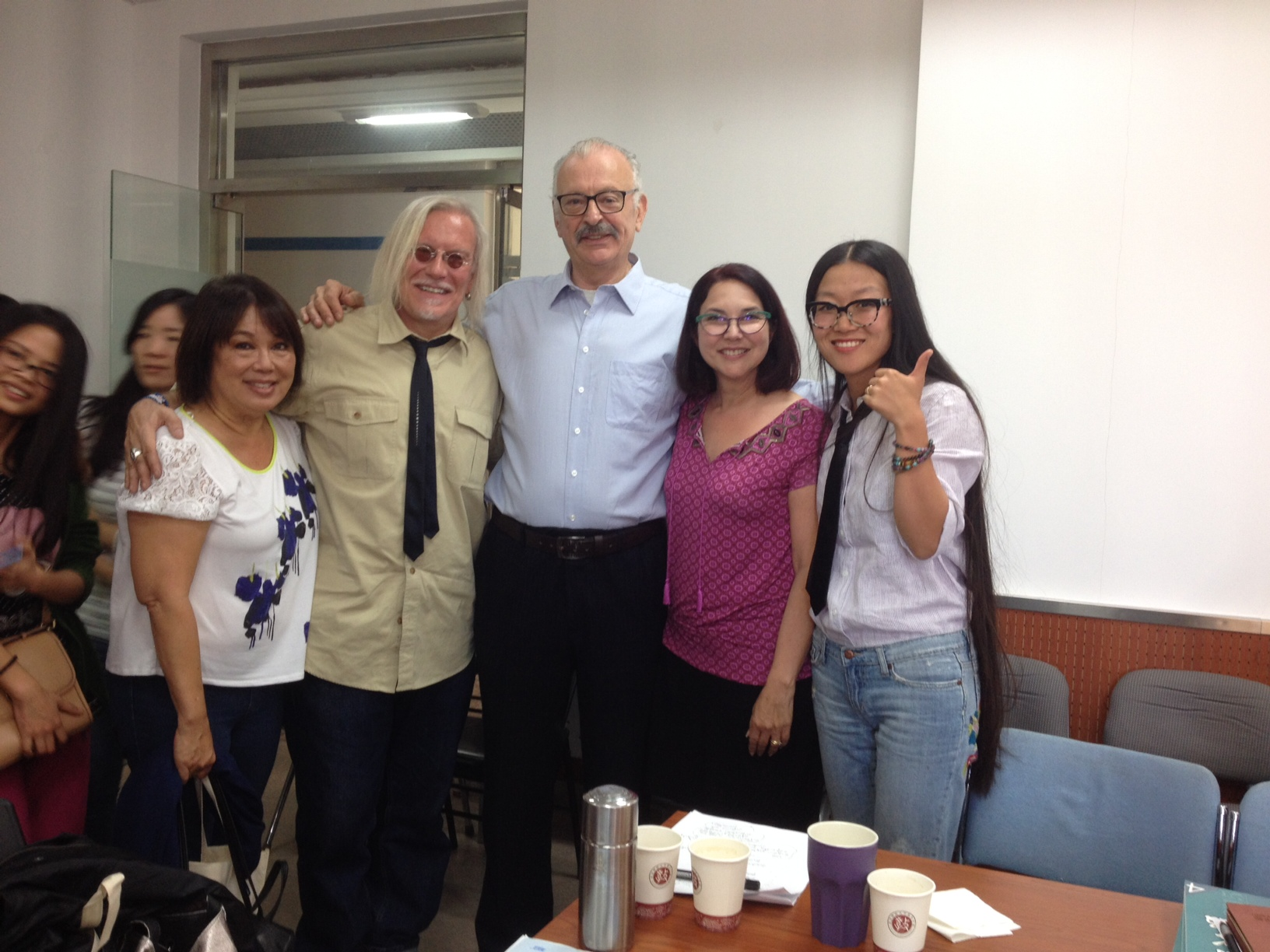 Professor Paul Willis joins the Chapman group for a lecture by Peter at Beijing Normal University