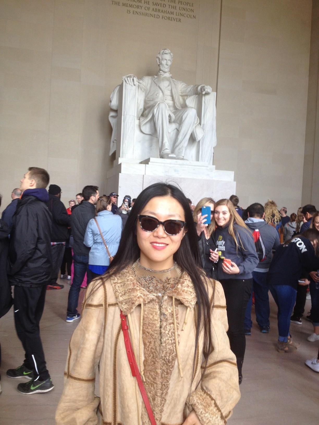 With Angie at AERA: Washington DC