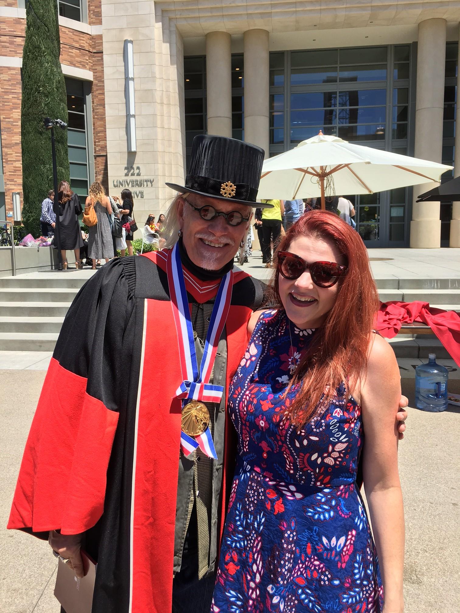 2016 Chapman University Graduation with Janae Dimick