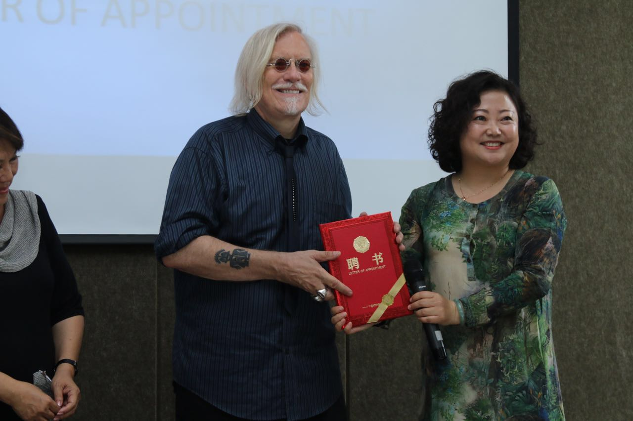 Peter Honored as International Consultant
