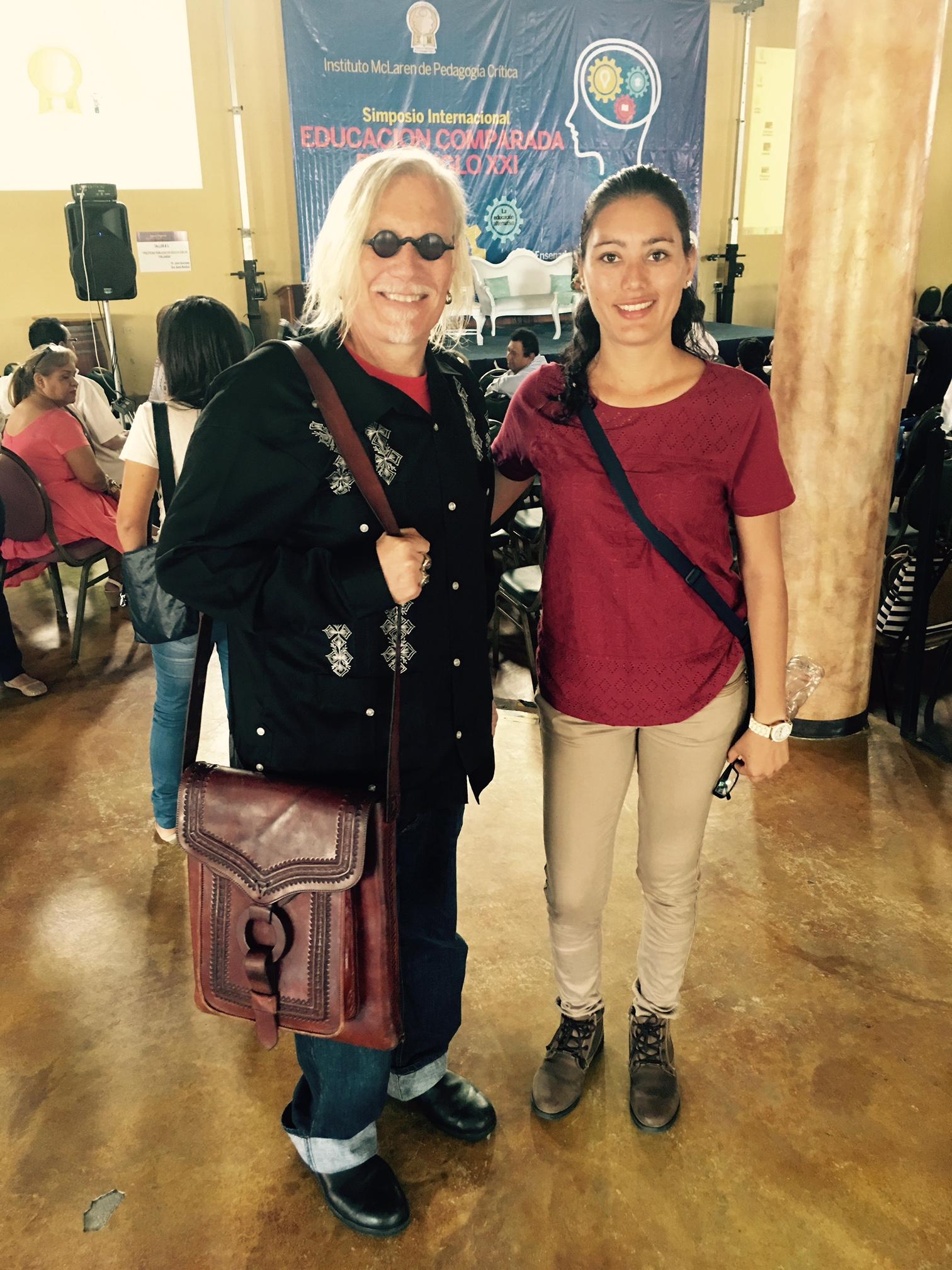 With Leah in Ensenada