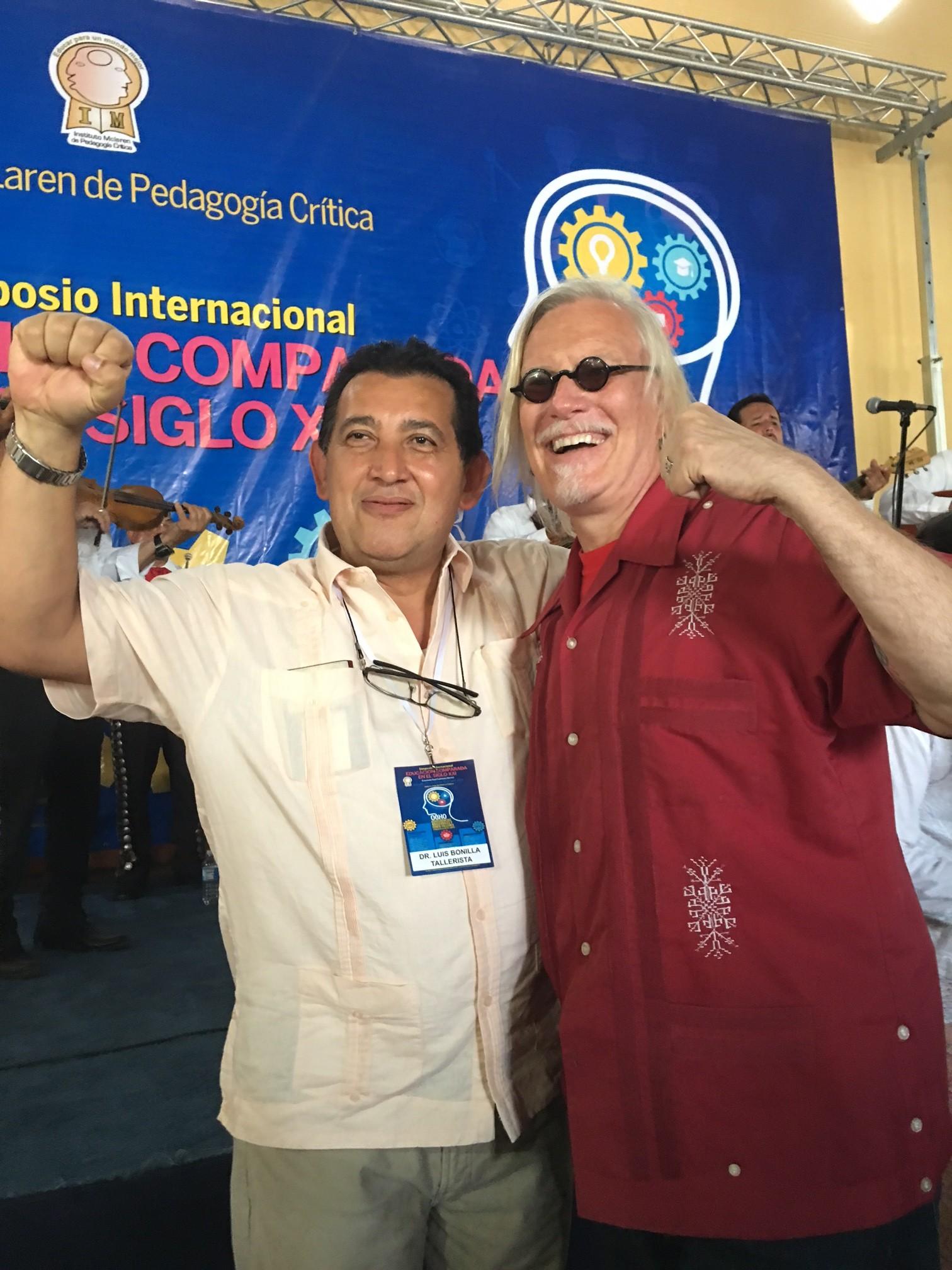 With Luis Bonilla