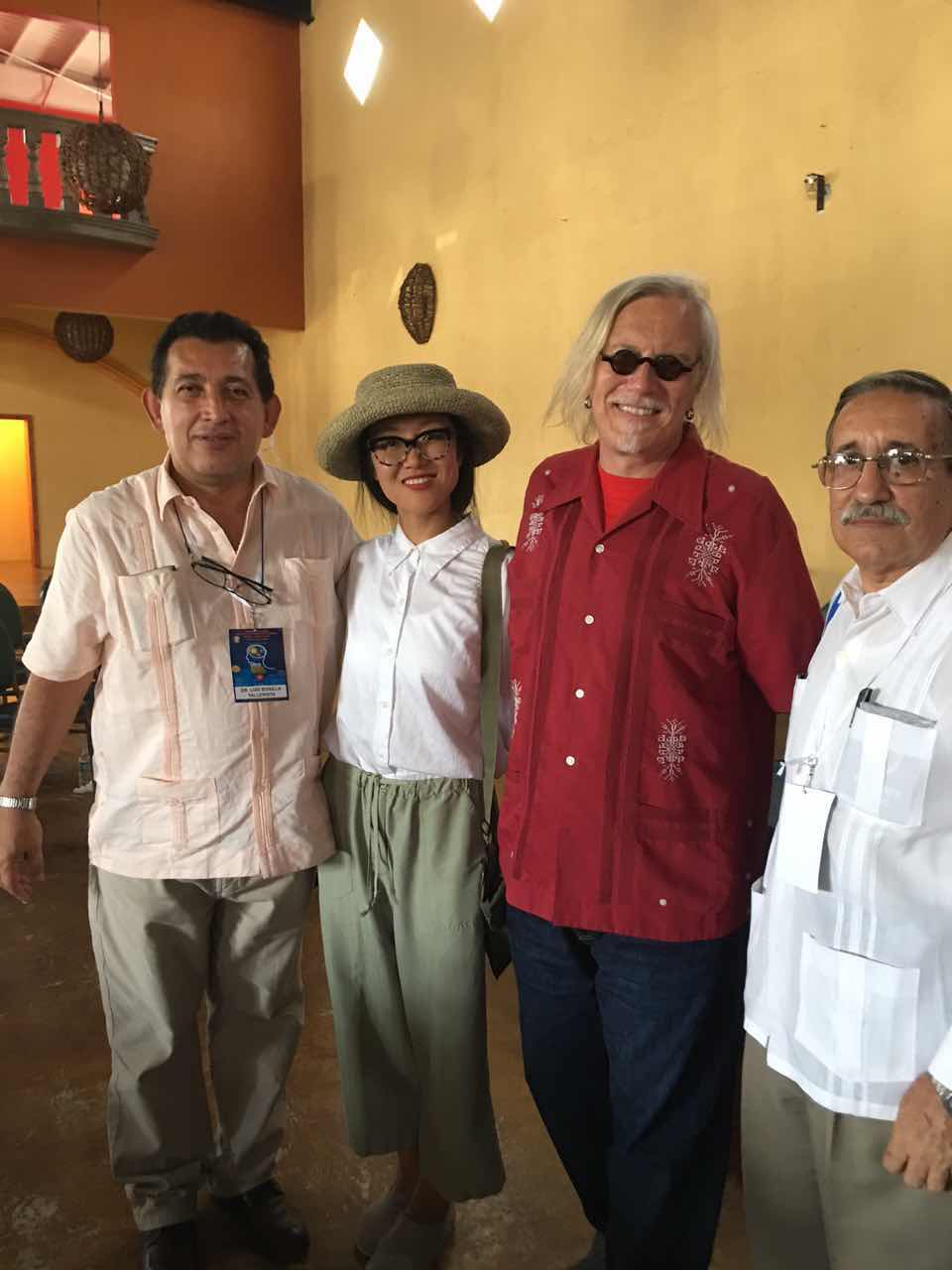 With Luis and Lisardo at Ensenada Conference