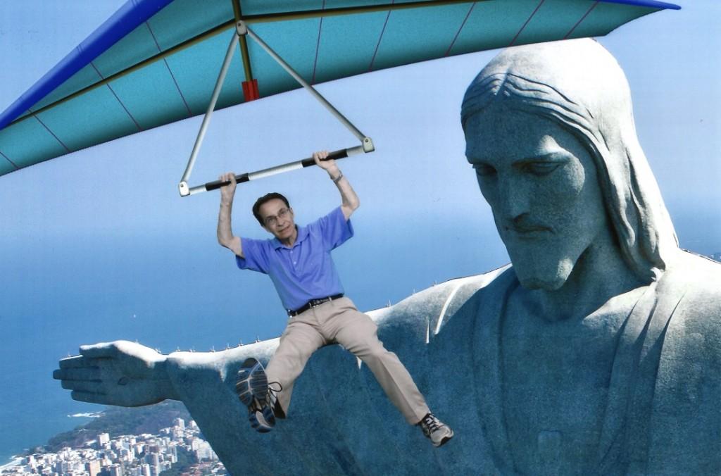 Ron & Christ the Redeemer, Rio de Janeiro, Nov. 9, 2013