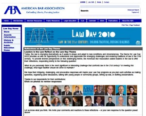 ABA 2010 Law Day