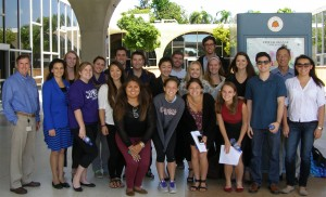 Chapman University GIS Students 2015