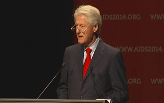 m2m's mission in sync with recent Clinton remarks on AIDS prevention
