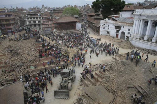 Relief Efforts in Nepal with Kravis Prize Organizations