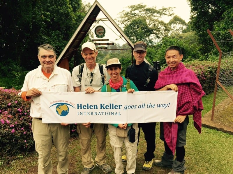 Follow Up Interview with Kathy Spahn, HKI's President and CEO, upon Completing Her Hike up Mount Kilimanjaro