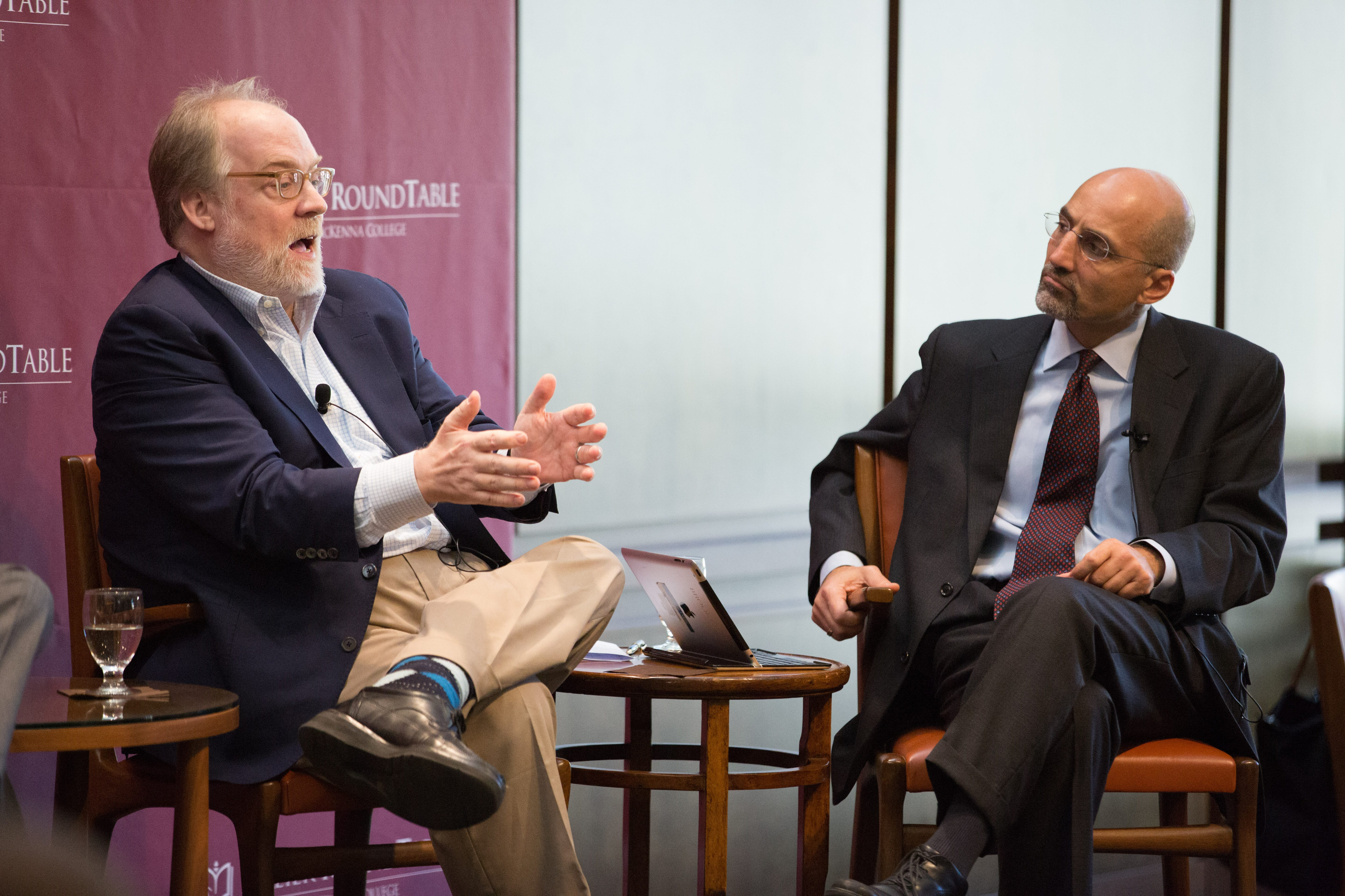 Mike Murphy, Revolution Agency, and William Antholis, Brookings Institution.