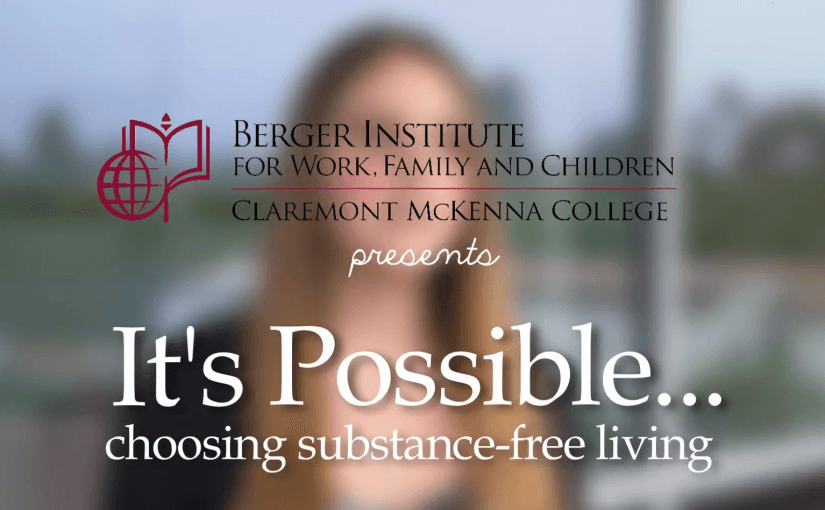 It's Possible: choosing substance-free living