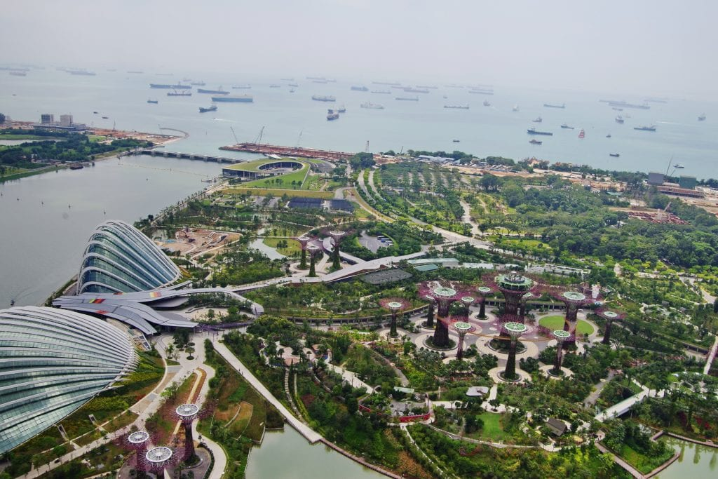 Gardens by the Bay, South View