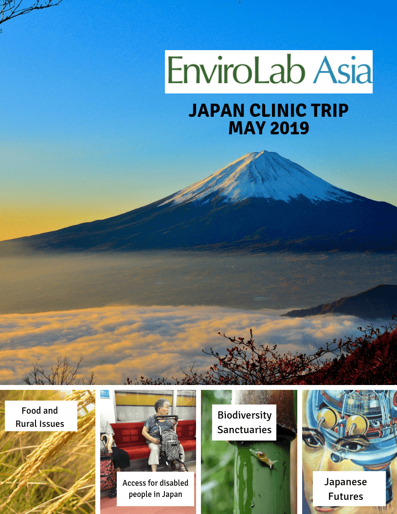 Apply to be an EnviroLab Asia Student Fellow for 2019- Deadline extended