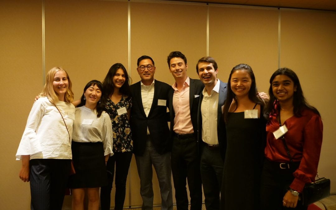 Japan Clinic Trip Culminates in Tokyo Alumni Reception
