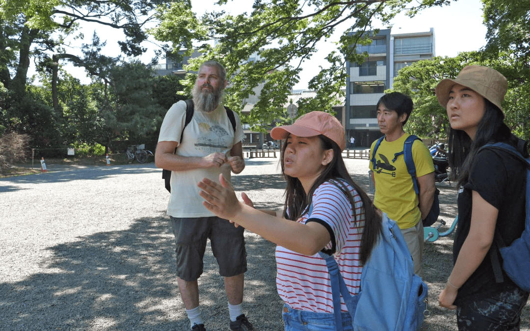 Teamwork within Field Work and a Moving Trip to the Hiroshima Peace Memorial