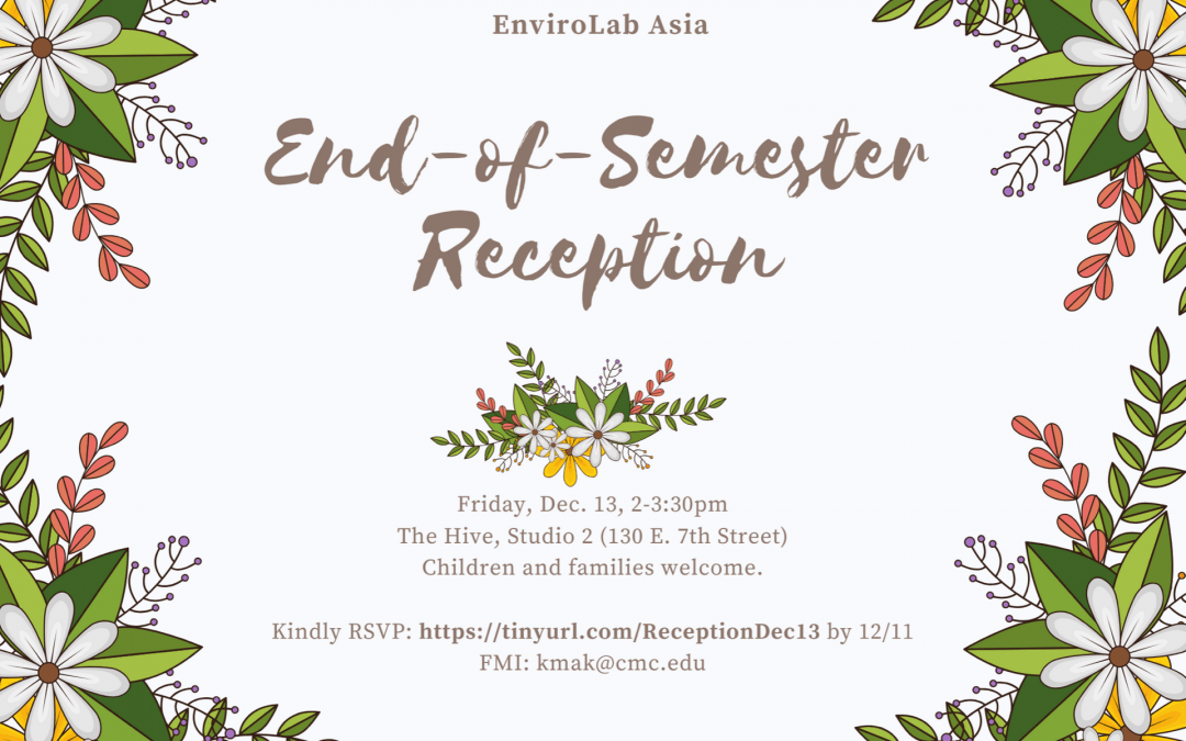 End-of-Semester Reception