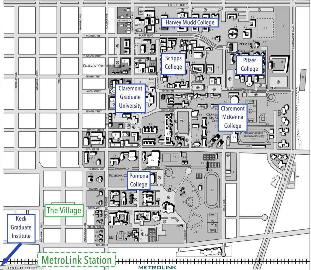 Metrolink Map