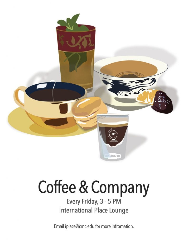 Coffee and Company every Friday from 3-5PM