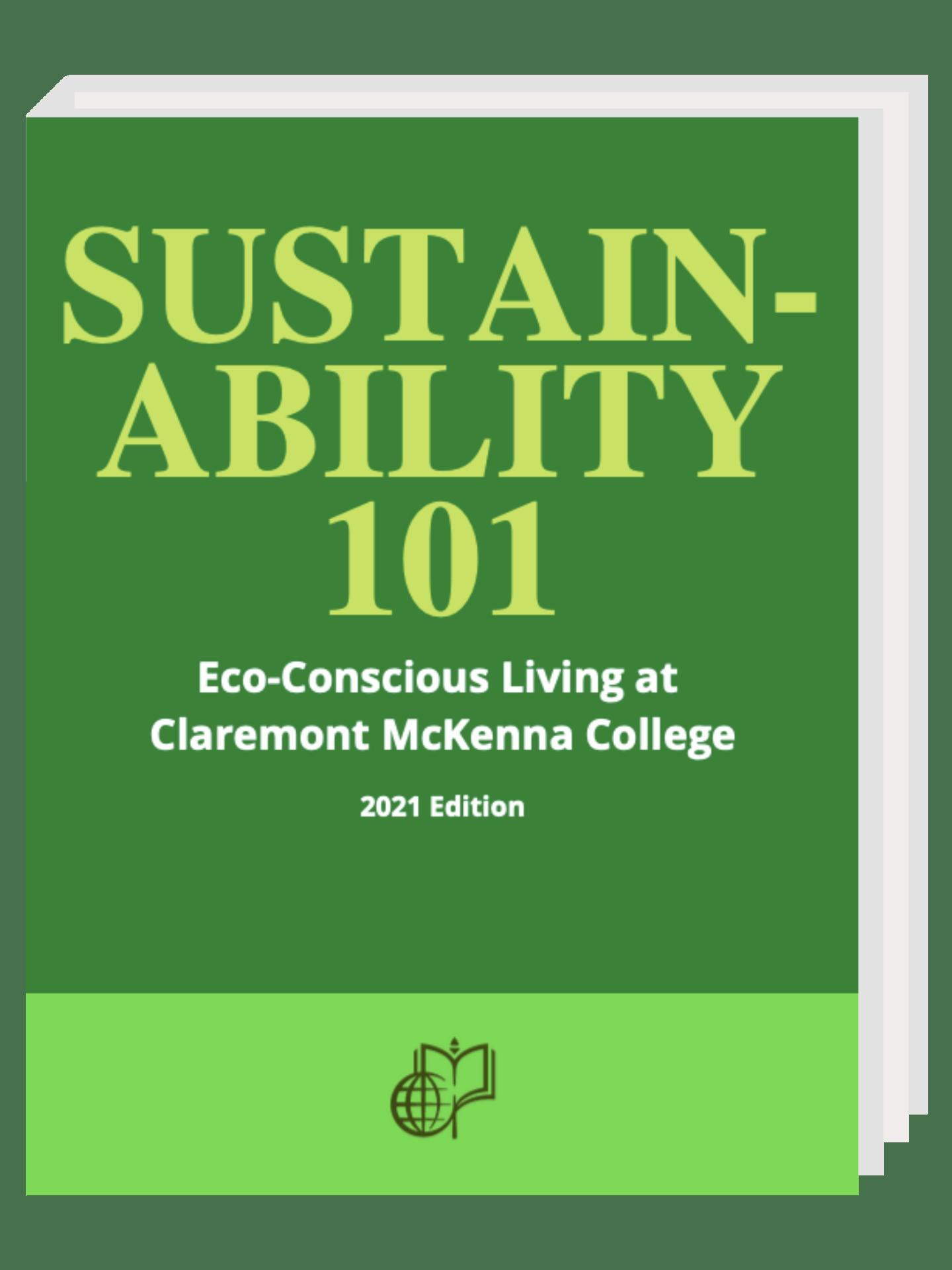 SUSTAINABILITY 101 @ CMC booklet