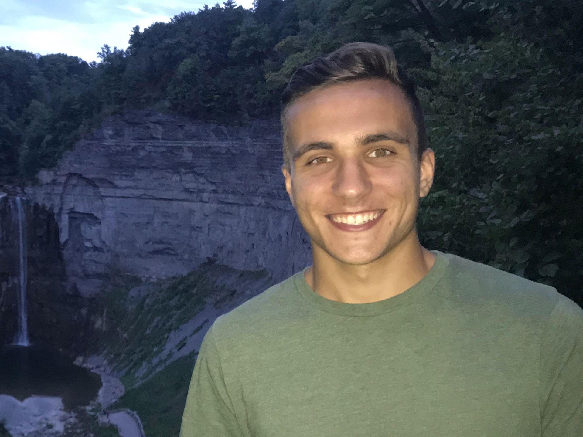 Cornell engineering student Adam