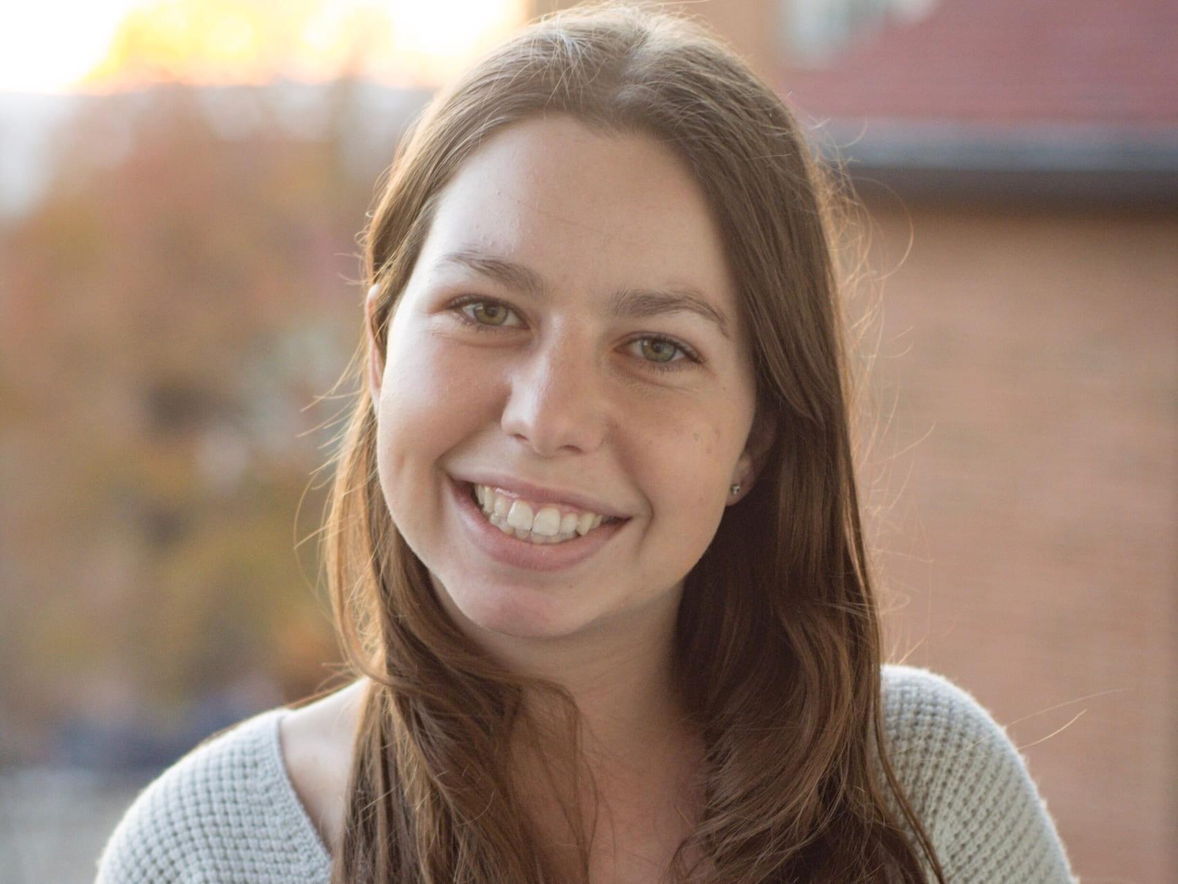 Cornell engineering student Amanda