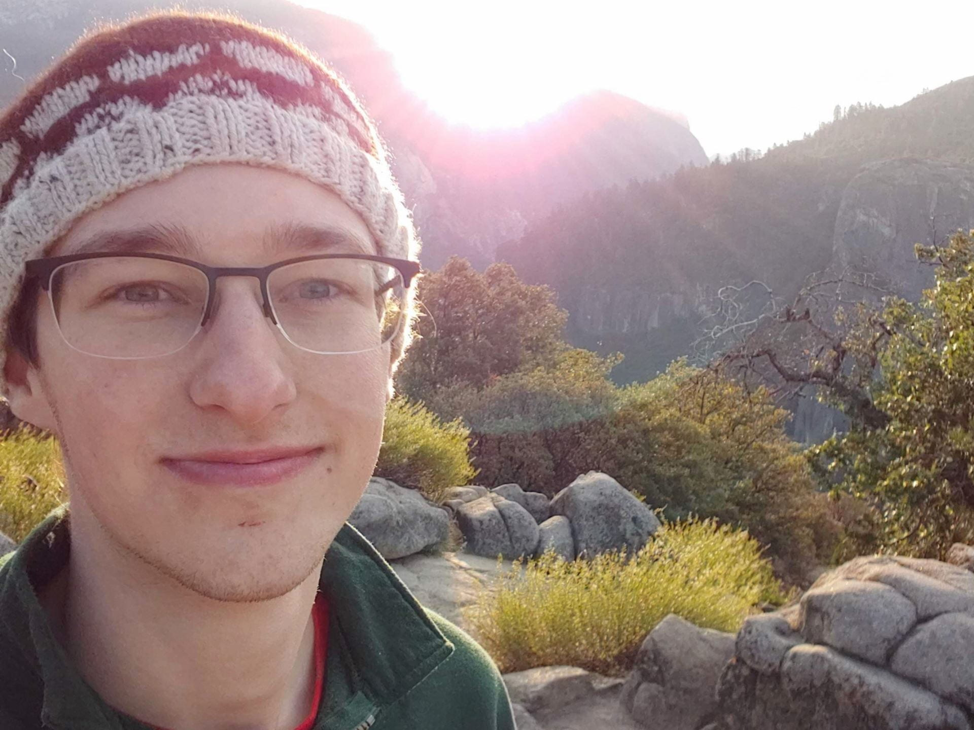 A photo of Cornell Engineering student Graham