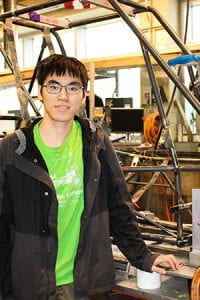 A photo of Cornell Engineering student Kenneth