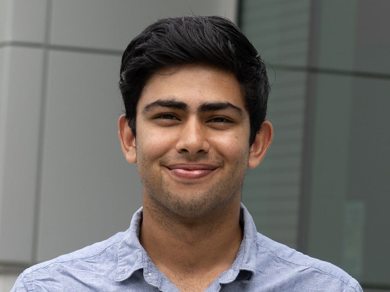 A photo of Cornell Engineering student Anuj