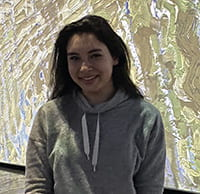 A photograph of Cornell Engineering student Sydney