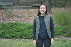 Cornell Engineering student Kimberly