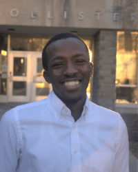 Cornell Engineering student Samuel