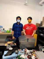 Cornell Engineering student Shota