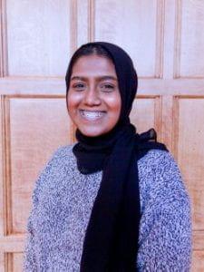 Cornell Engineering student Rahma
