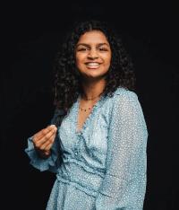 Cornell Engineering student Niki