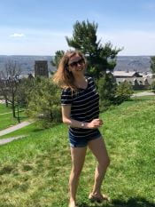 Cornell Engineering student Stephie