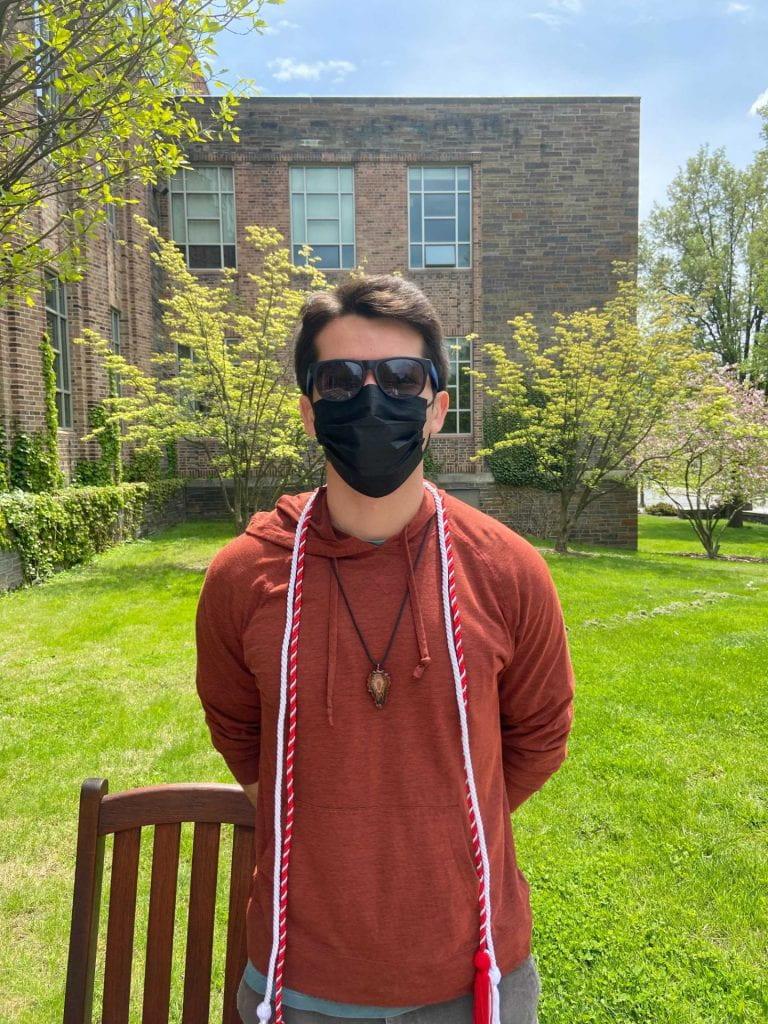 Evan Austin Cornell Engineer grad 2021