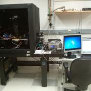 High voltage and high current Signatone probe station coupled with Agilent 1500B sourcemeter in Duffield Hall