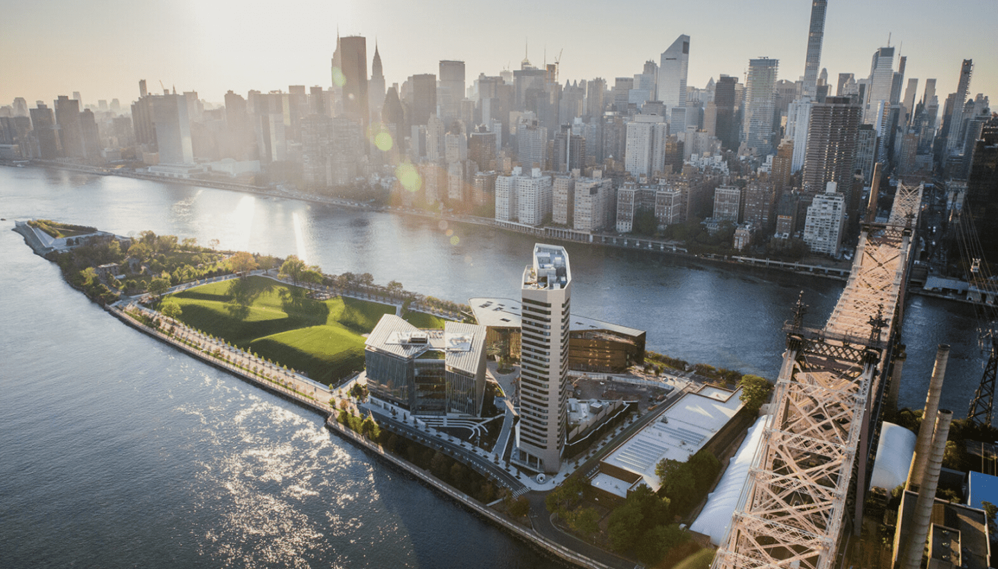 Cornell Tech Aerial View
