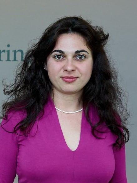 Portrait of Prof. Andreea Minca