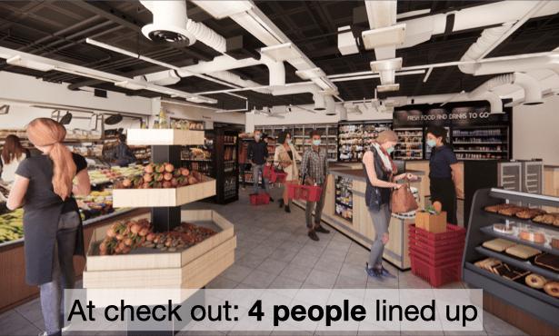 Virtual store choice