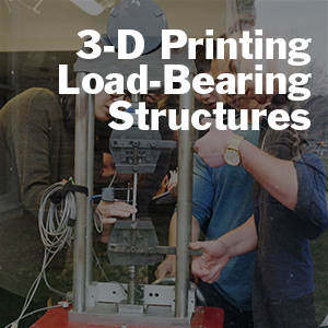 Derek Warner and Paul Charles talk about 3-D printing and load bearing structures