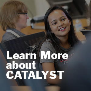 Learn more about the CATALYST academy